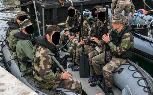 Optagelseprøve til frømand
